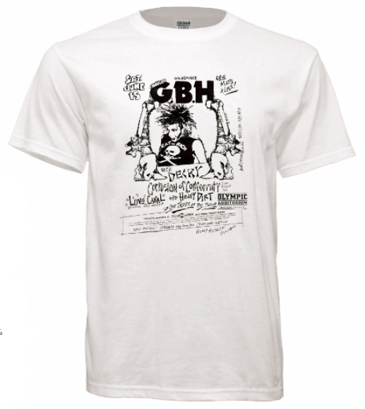 5aa2d838c T-shirt GBH Decry Corrosion of Conformity Olympic Auditorium Old Punk  Concert Flyer Tshirt (free shipping)