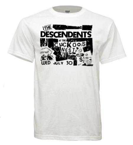 T Shirt The Descendents Cuckoos Nest Old Punk Concert