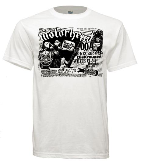 T Shirt Motorhead Doa Necros Die Kreuzen Olympic